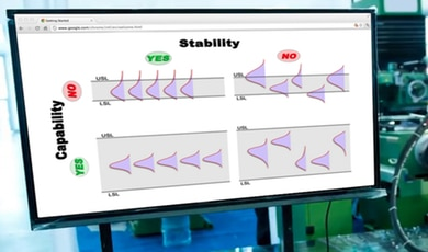 What is the relationship between process stability and process capability?