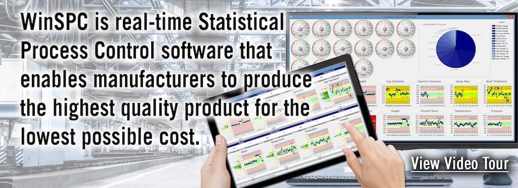 WinSPC is real-time statistical process control software - SPC Software